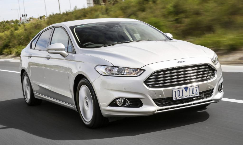 The new Ford Mondeo is an impressive medium-sized sedan.