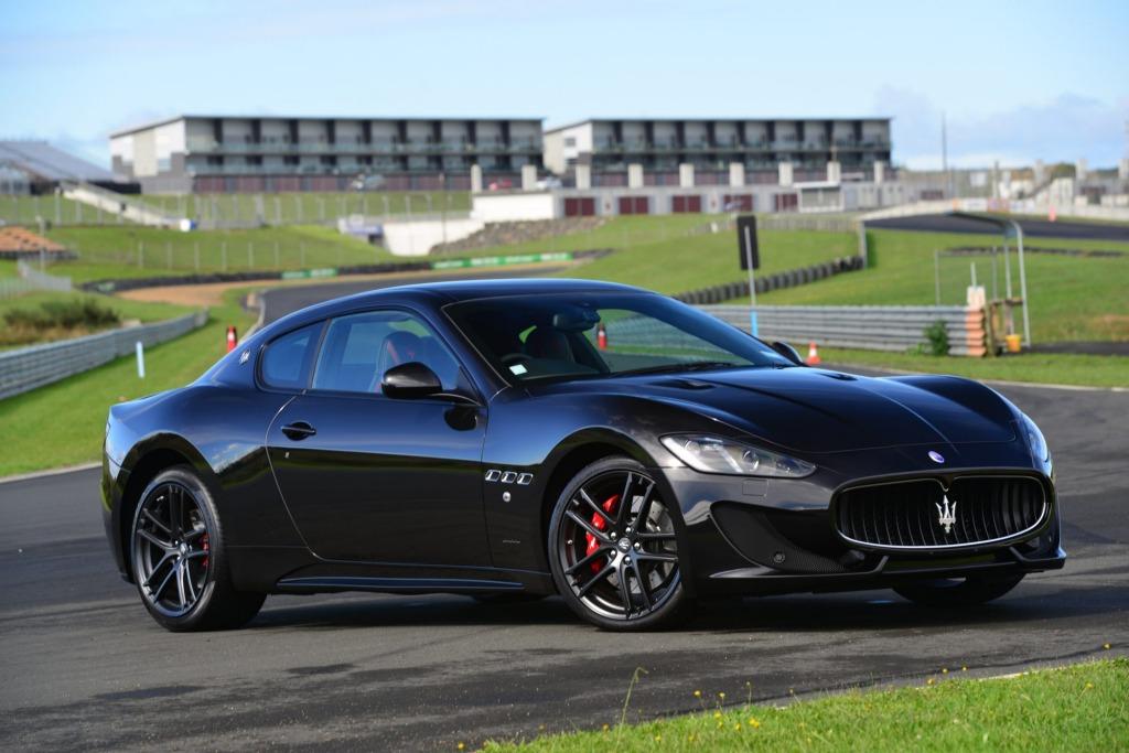 Road-friendly supercar: the Maserati GranTurismo Trofeo.
