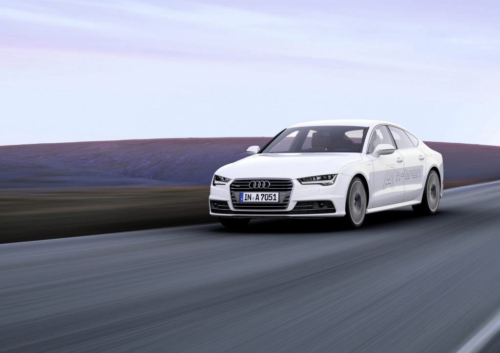 The Audi A7 h-tron quattro may be hi-tech but drives like a normal car.
