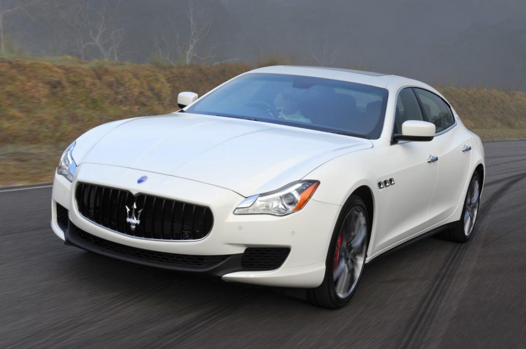 The 2014 Maserati Quattroporte.
