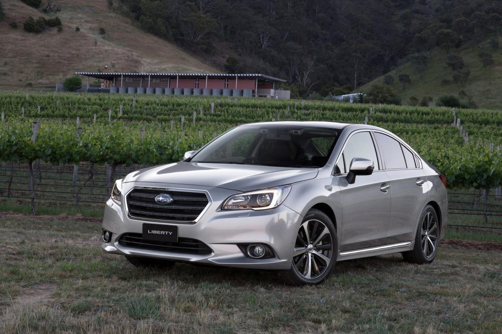 Subaru's Liberty 3.6R brings affordable technology.