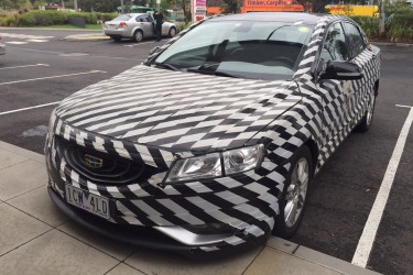 Spotted: Geely GC9 in Australia