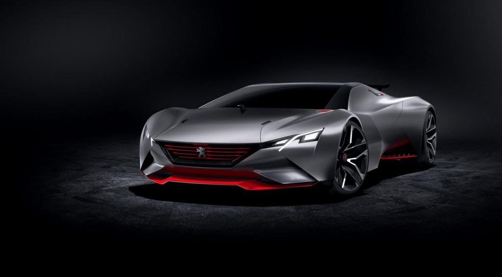 Peugeot 's Vision Gran Turismo concept.