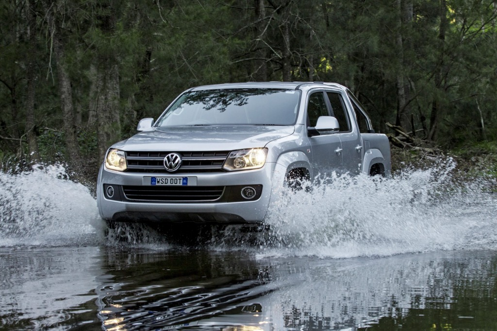 Work and play, comfortably: the Volkswagen Amarok Highline tops its segment for cabin comfort and driving dynamics.