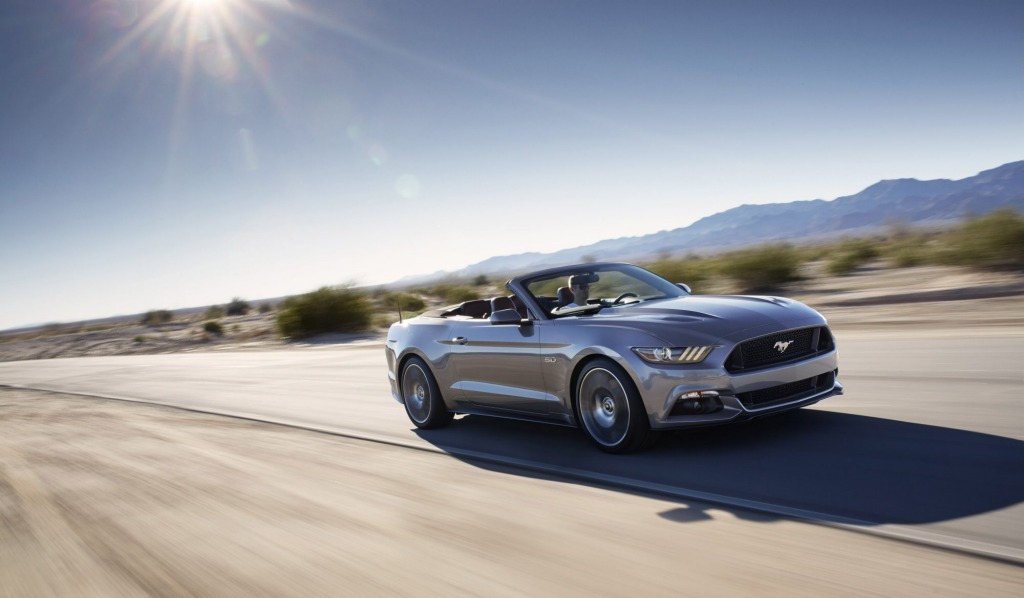2015 Ford Mustang Convertible.