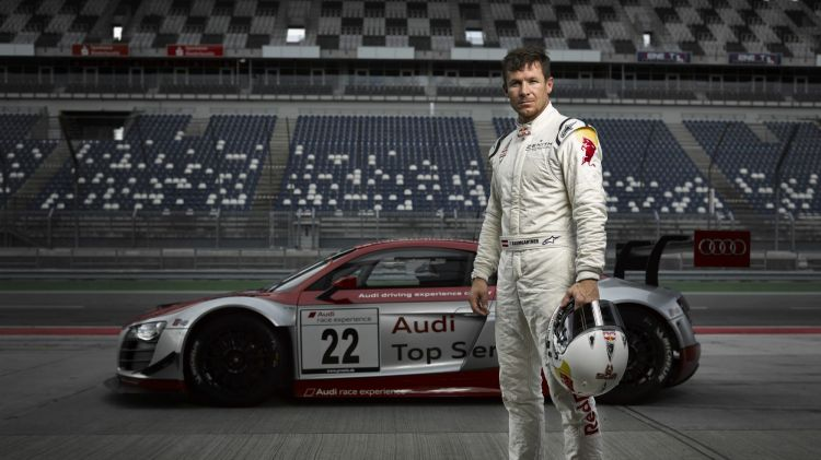 Having jumped from space and made his racing debut at the Nurburgring, daredevil Felix Baumgartner will race in the 2015 Bathurst 12-hour.
