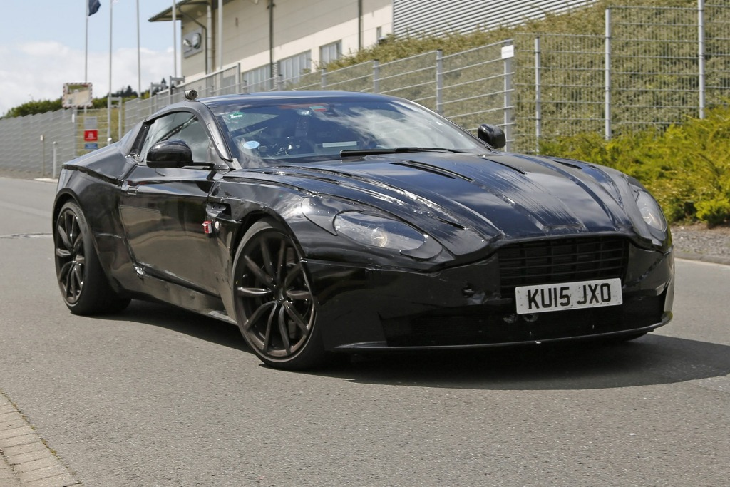 Spy-Shots of Cars - This image has been optimized for a calibrated screen with a Gamma of 2.2 and a colour temperature og 6500?K  Aston Martin DB11