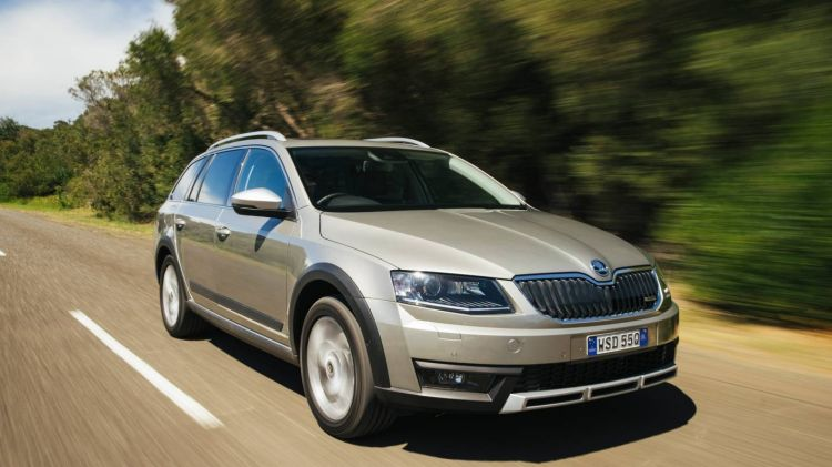 The Skoda Octavia Scout is the recipient of a massive price revision.