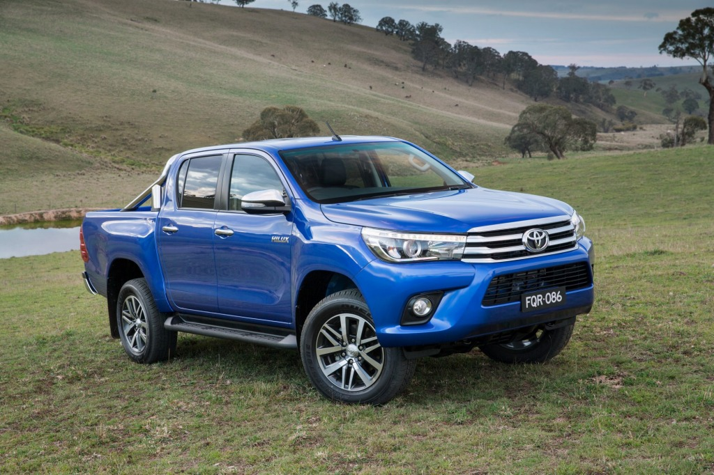 On the cards: Toyota is considering a TRD variant of its new HiLux (pictured)