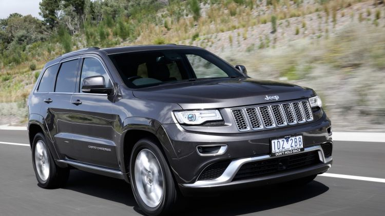 Jeep Grand Cherokee Summit Platinum first drive review