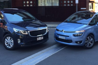 Head to head: Kia Carnival and Citroen Grand Picasso