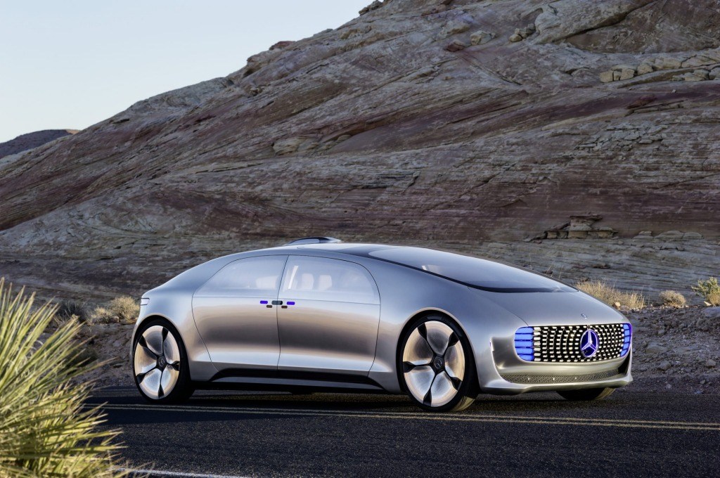 The Mercedes-Benz F015 Luxury in Motion is the German brand's take on the future of prestige cars.