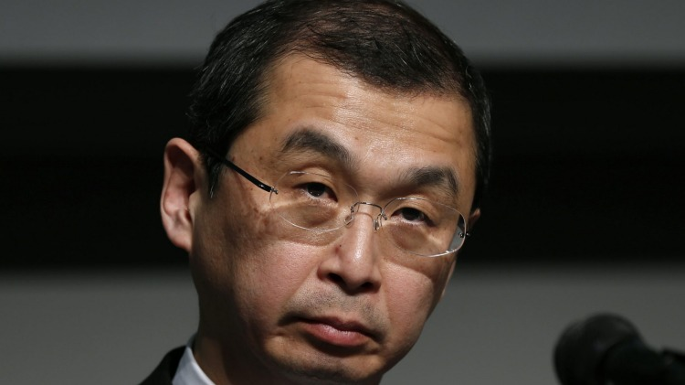 Takata chief executive Shigehisa Takada apologised for his company's role in the death of motorists.