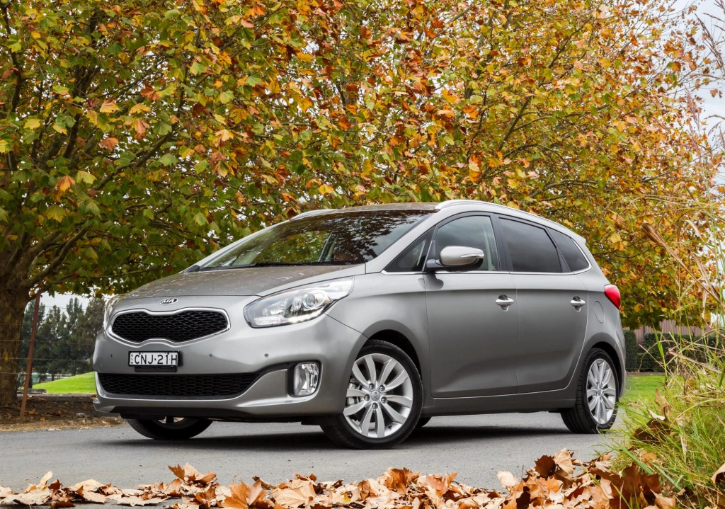 The Kia Rondo offers up people mover practicality in a compact package.