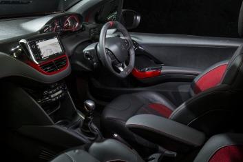 Peugeot 208 GTi interior.