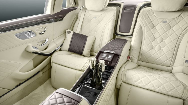 The new Mercedes-Maybach S-Class Pullman takes luxury to the next level.
