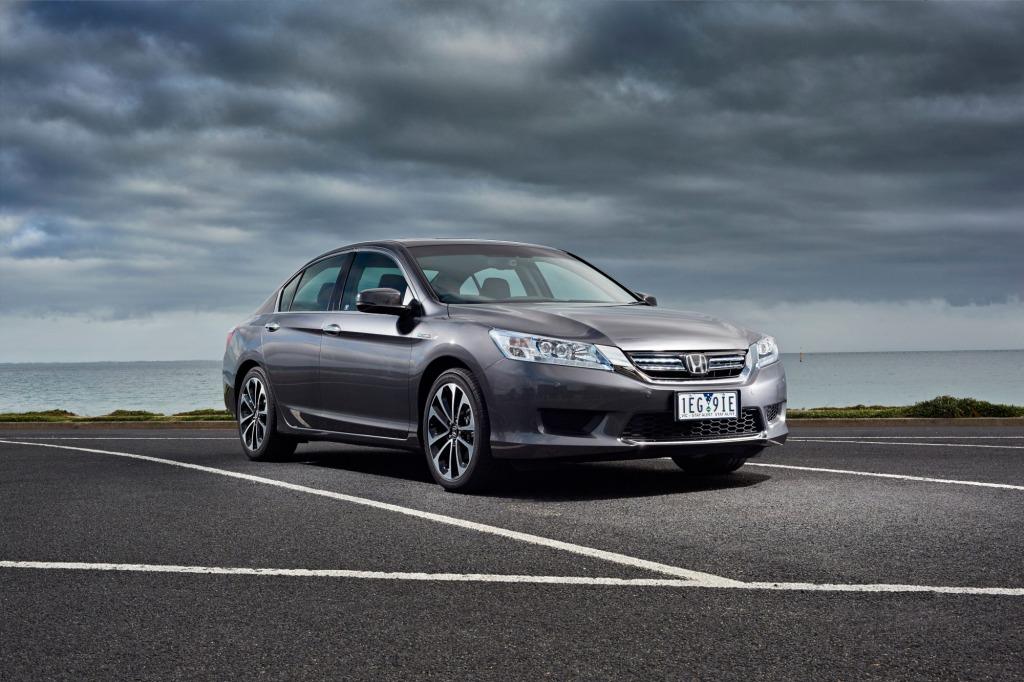 The new Honda Accord Sport Hybrid.