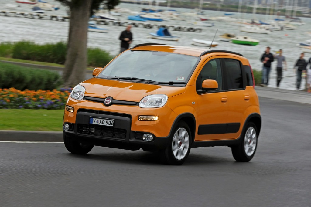 Fiat has stopped deliveries of the Panda to Australia.