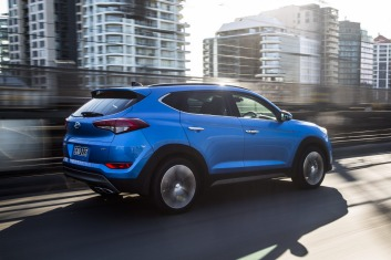 The new Hyundai Tucson meets the requirements for  a family car.
