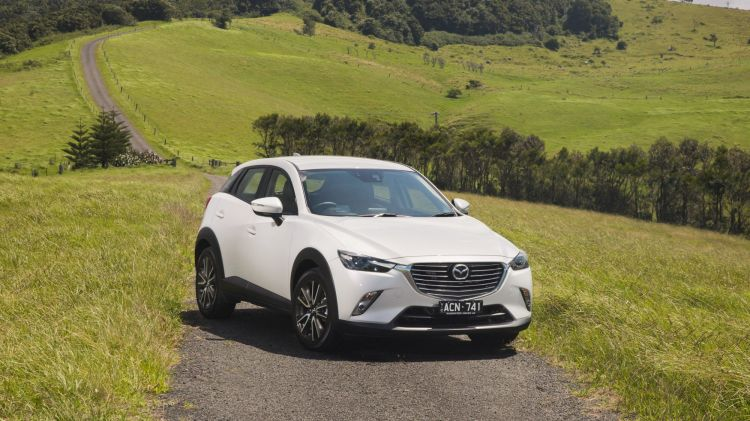 Mazda's new CX-3 could soon become the best seller in the category.