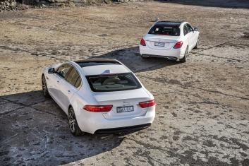2015 Drive comparison - Jaguar XE v Mercedes-Benz C200.