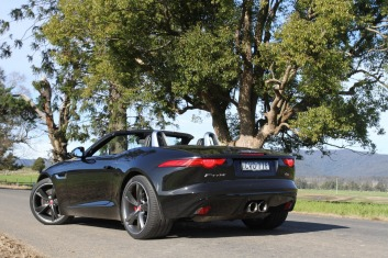 The F-Type is one of the best-sounding cars on sale.