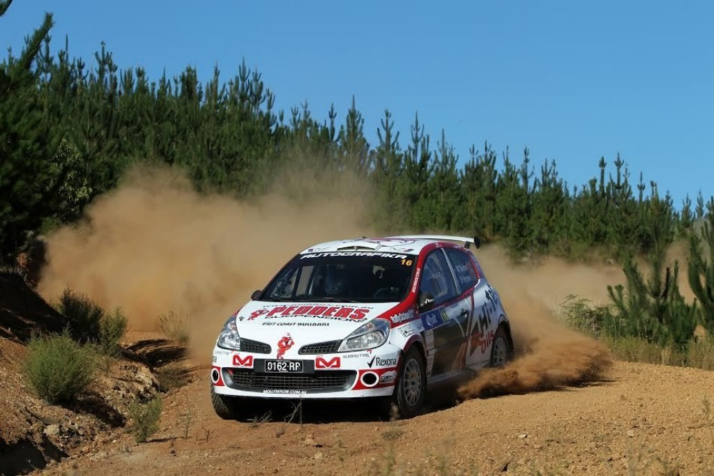 Molly Taylor in action during the Australian Rally Championship.