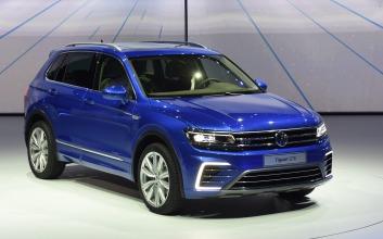 The new Volkswagen Tiguan GTE.