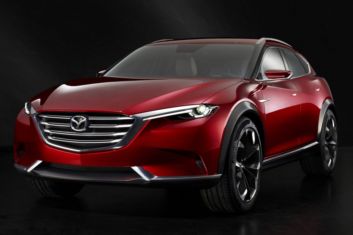Mazda's Koeru concept shos off the design language for its next-generation of SUVs as well as what could be a sporty CX-4.