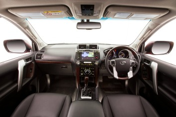 The Kakadu cabin features heated leather seats with electric memory adjustment, a thumping 15-speaker JBL stereo, three-zone climate control and more.