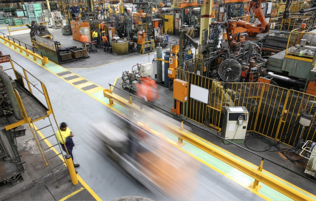 Nissan's Australian casting plant produces vital components for several cars.