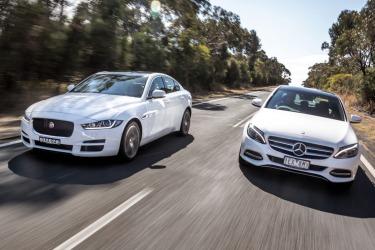 Comparion test: Jaguar XE vs Mercedes-Benz C-Class