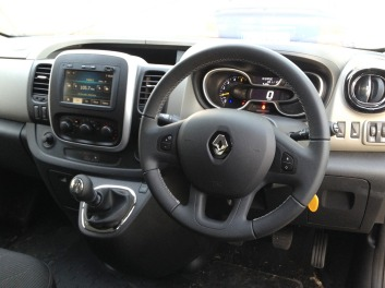 Renault traffic interior