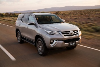 Toyota has added the new Fortuner to its bulging SUV lineup.