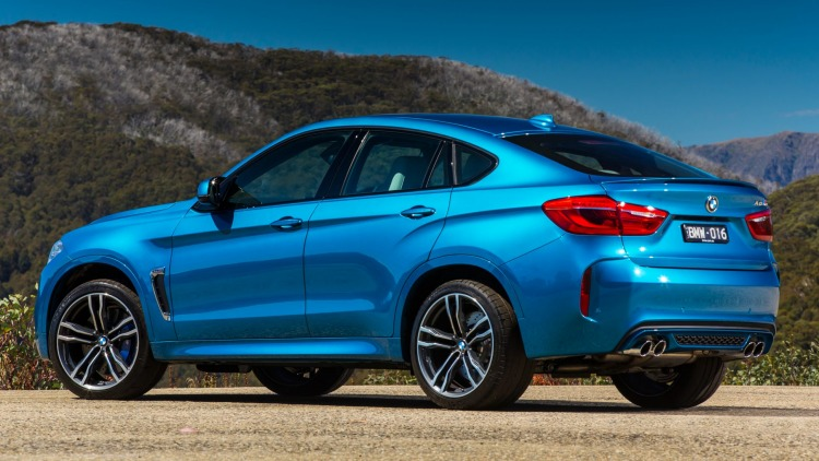 The coupe-like styling sets the BMW X6 apart from its rivals - for now.