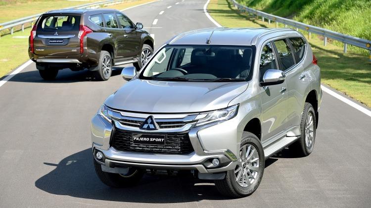 The new-look Mitsubishi Challenger SUV, which is now called the Pajero Sport.