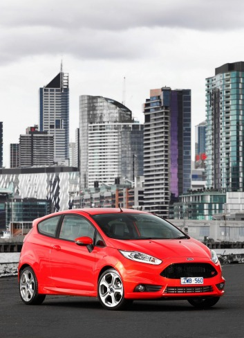 The Ford Fiesta ST has a useful boot, you can lob mates in the back and it's reasonably thrifty.