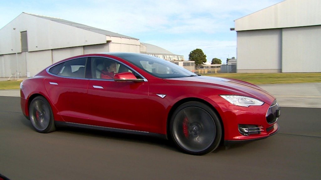 """The Tesla Model S Dual Motor can produce 515kW in what is called """"Insane Mode"""" which combines both engines."""