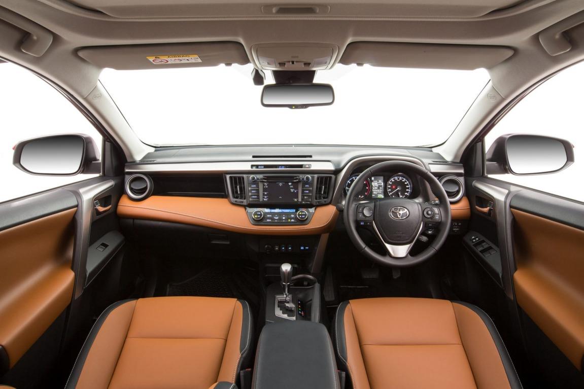 Toyota has updated its RAV4 small SUV.