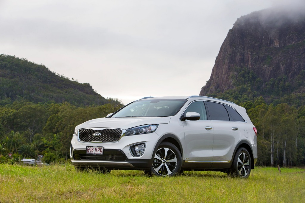 The new Kia Sorento Diesel is equipped with a DPF.