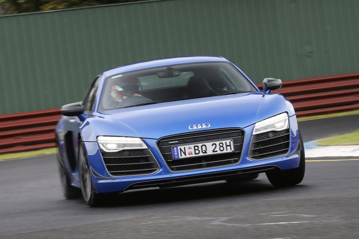 Audi's ageing beauty, the R8, is a well-balanced supercar but its price and advanced years let it down.