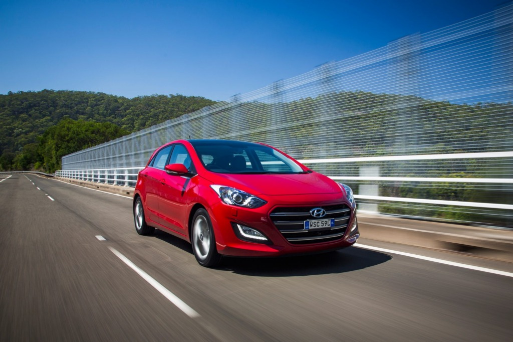 Hyundai's i30 is a solid contender in the small car class.
