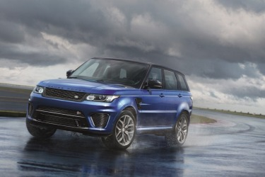 Range Rover Sport SVR road test review