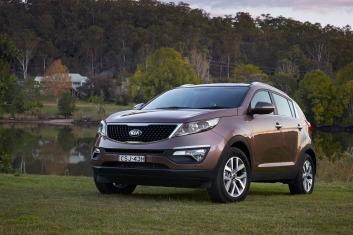 Kia Sportage SLi diesel makes a viable towing option.