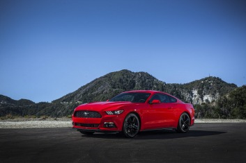The new Ford Mustang EcoBoost