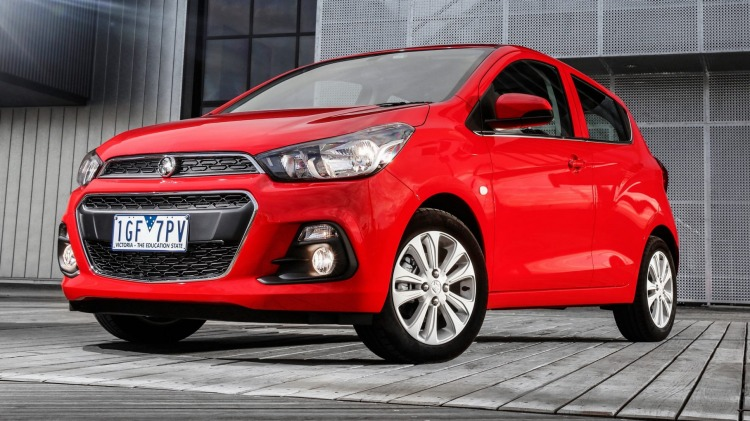 The 2016 Holden Spark is the brand's most affordable model.