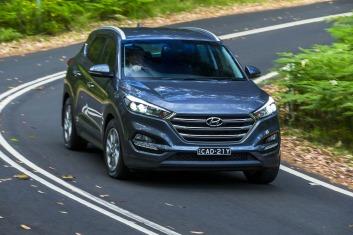 Mid-size SUV comparison: Hyundai Tucson