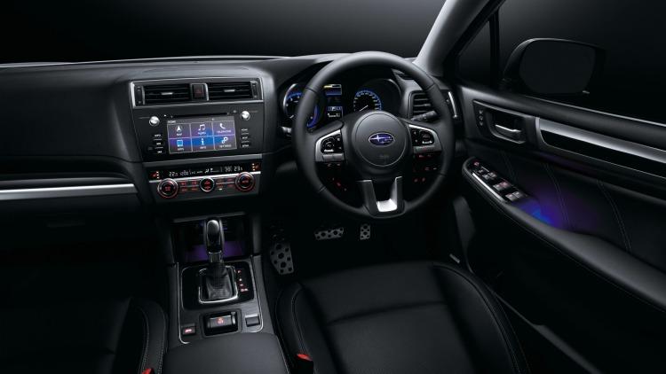 2016 Subaru Outback interior.