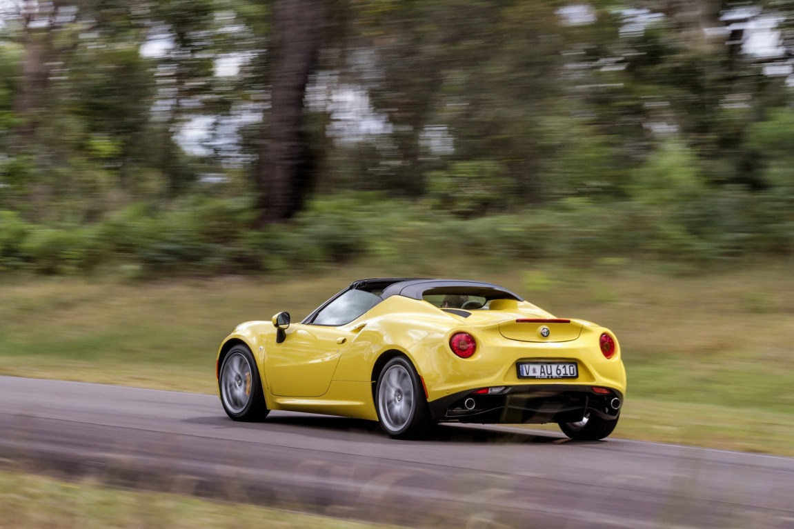 Alfa Romeo has launched its 4C Spider, the convertible version of its coupe which arrived in early 2015.