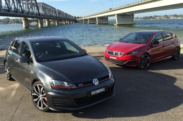 Head to head: Volkswagen Golf GTI Performance and Peugeot 308 GTi 270